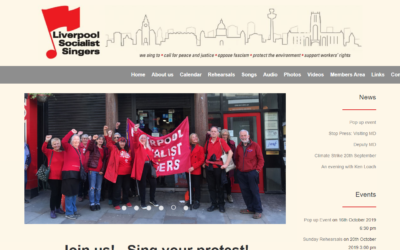 Website of the week: Liverpool Socialist Singers