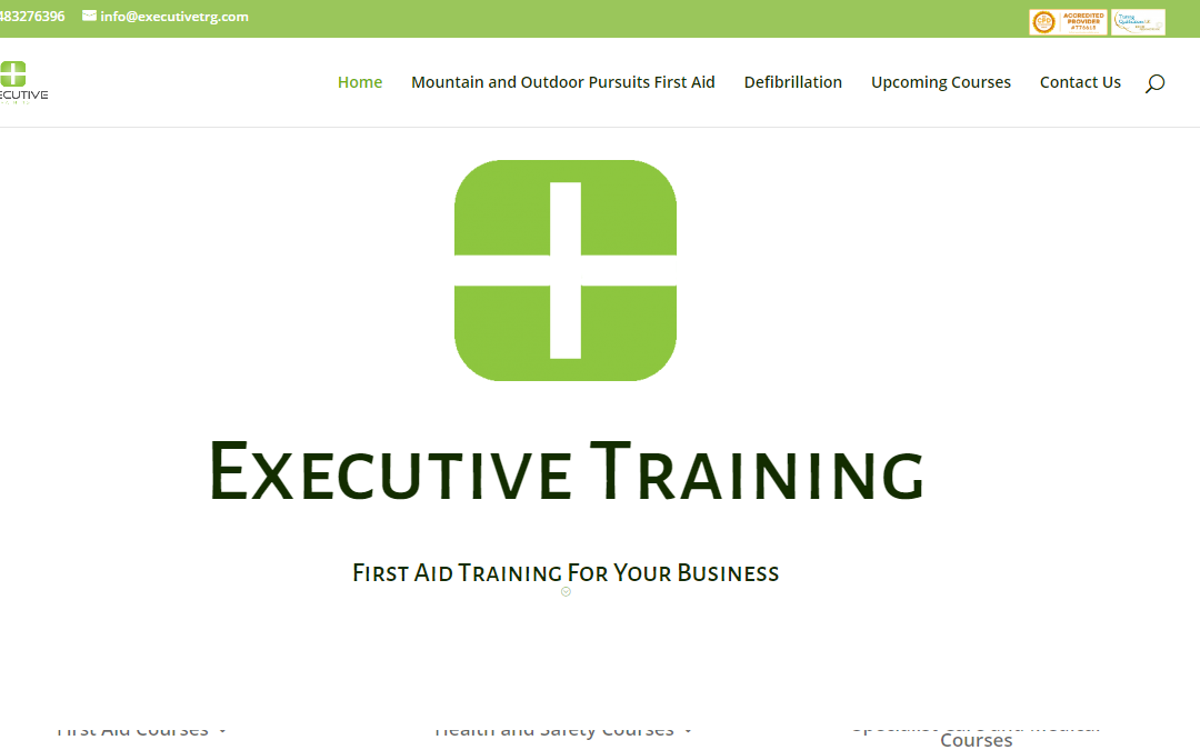 Website of the Week: Executive Training