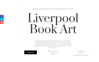 Website of the week: Liverpool Book Art