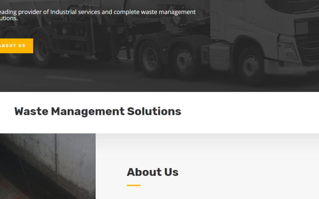 Website of the week: Kensol Waste Management