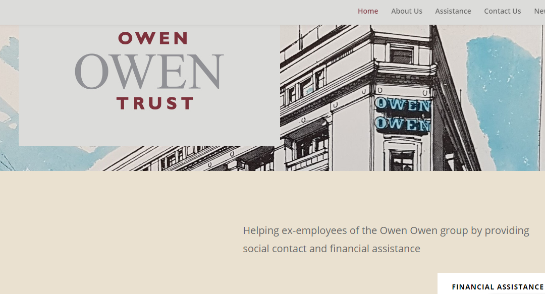 Website of the week: Owen Owen Trust