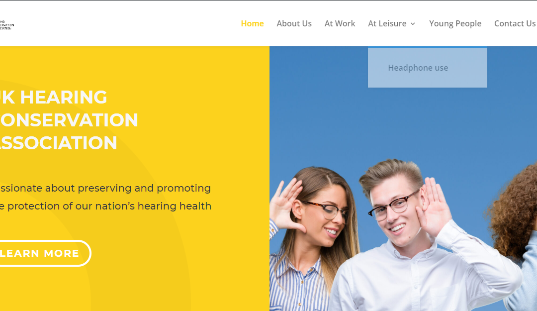 Website of the week: Hearing Conservation