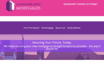 Website of the week: Alexander Ross Mortgages