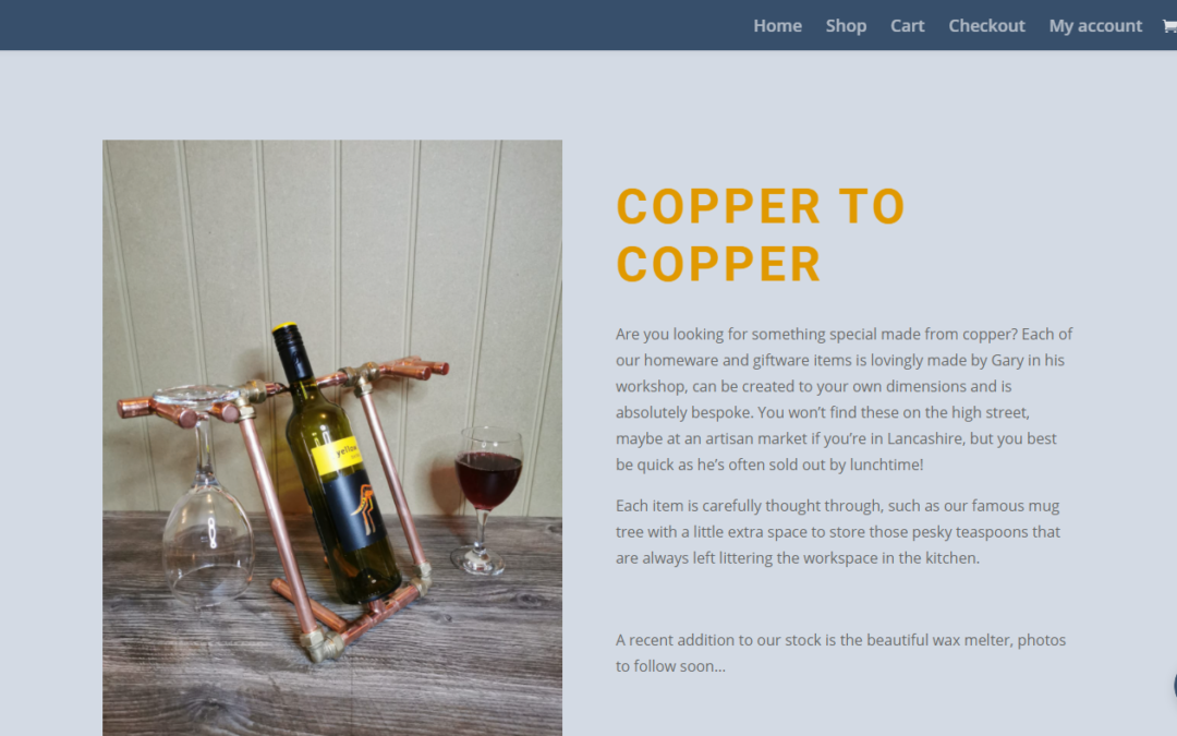 Website of the week: Copper 2 Copper